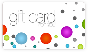 pre-designed gift cards